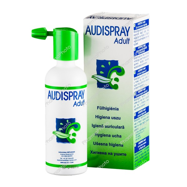 Audispray Adult fülspray 50 ml